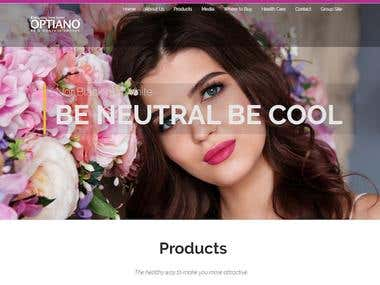 Optiano (Contact Lenses website)