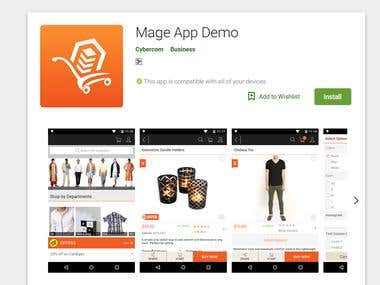 Android APP - Mage App Demo