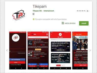 Android APP - Tikepam