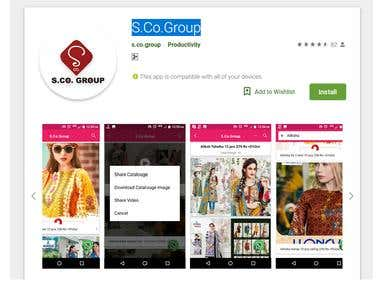 Android - APP - S.Co.Group