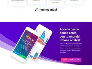 Zapio Application https://zapio.app/