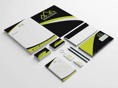I will stationery design with huge creativity