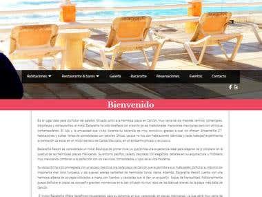 Hotel bacaratte cancun