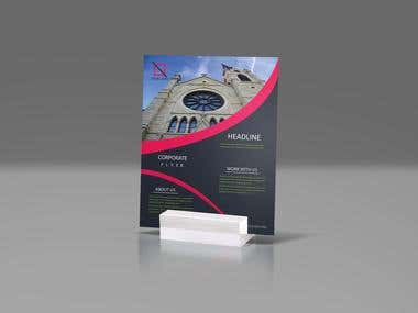 I will design a flyer beautiful for your business