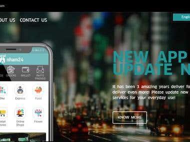 Online Food Delivery Platform [ nham24.com ]