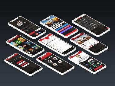 Mobile Application ui