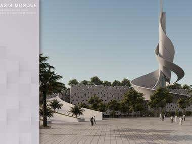 Oasis Mosque -Dubai