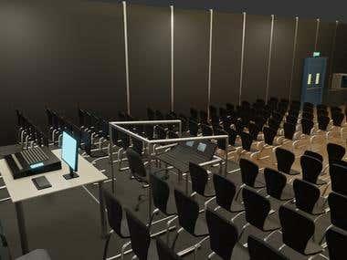 Auditorium - 3D visualization
