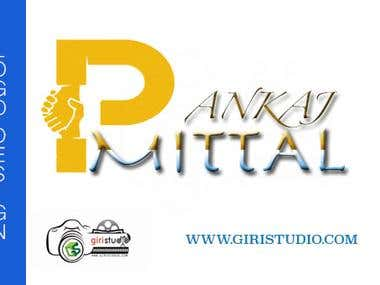 Logo Design for Pankaj Mittal