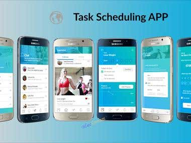 Task Scheduling App by React-Native