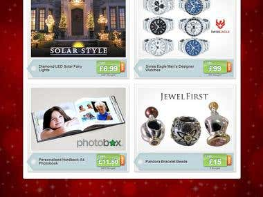 Groupon Norway & Ireland Christmas Page