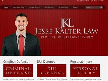 Website for Jesse Kalter