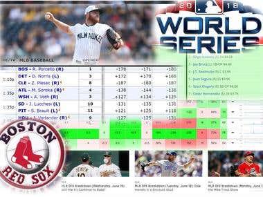 MLB prediction