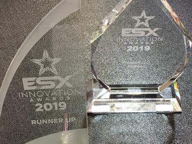 ESX Innovation Award 2019