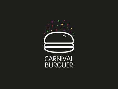 Logo Design Carnival Burguer