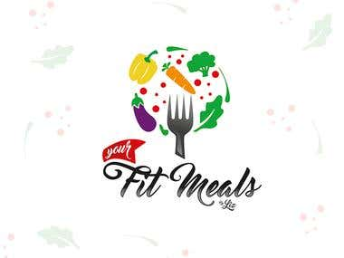 Logo Design Fit Meals