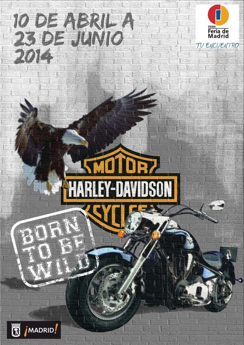 Harley Davidson Poster Freelancer
