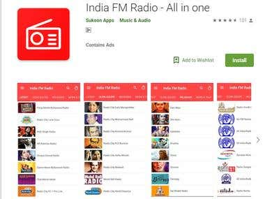 India FM Radio-All in one