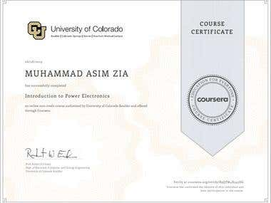 Power Electronics Certification