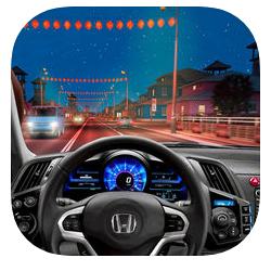 IOS Race Car Driving Simulator 3D Game