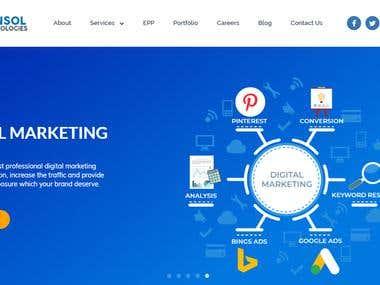 Website Development (Funsoltech.com)