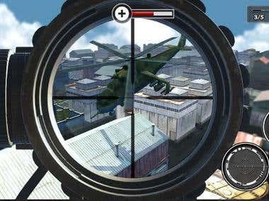 Unity 3d FPS Shooting Gun Strike Modern Sniper War Freedom