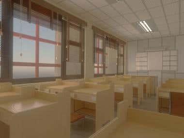 Simple Classroom concept