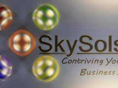 Customer 3D logo design