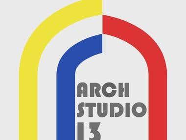 ARCHSTUDIO13 LOGO DESIGN