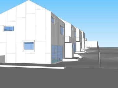 Design 4 houses in Australia