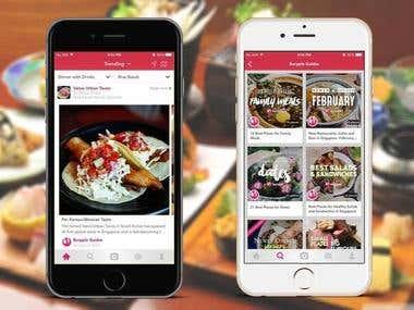Food & Restaurants App