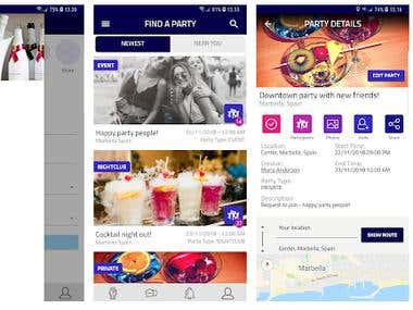 CHILILAY Party App