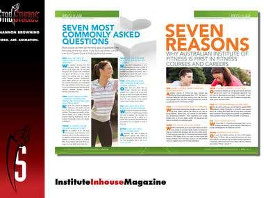Inhouse Magazine redesign