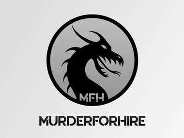 MurderForHire Logo Design