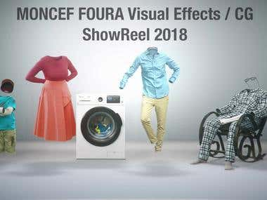 Animation and Visual effects Showreel 2018