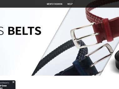 men's designer fashion brand