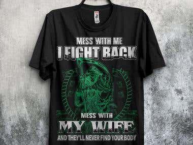 Devil T Shirt Design
