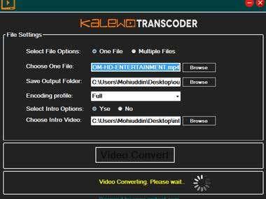 Kaledo Transcoder