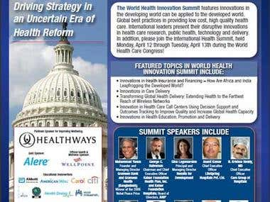 Panelist on International Health Congress USA