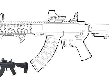 vector tracking for mk47