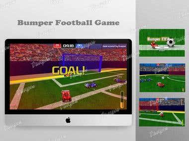 Online Bumper Football Game