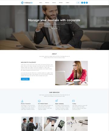 Full stack - Bootstrap 4 Multipurpose HTML Templates