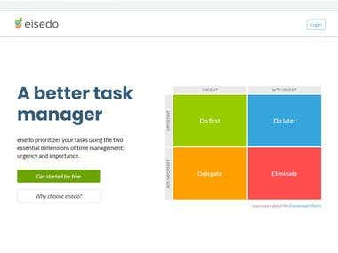 Task Manager Website