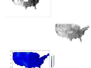 R Language : Processing spatial data