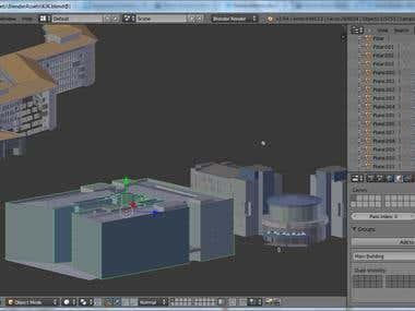 3D Building of KJK Brunei