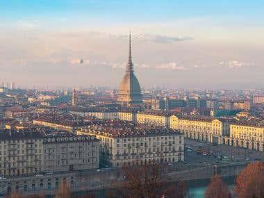 Torino Cityscape View