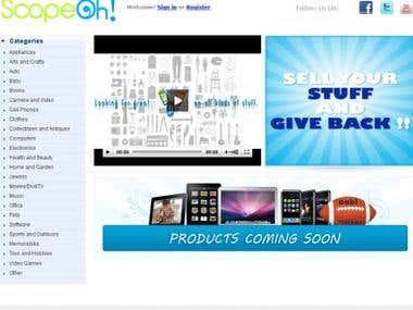 eCommerce site like eBay