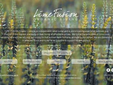 Lime Fusion, Organic Living