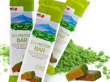 Product design for stevia chocolate bar
