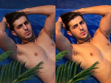 Before&After Retouching